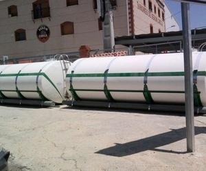 Cisternas elípticas para transporte con capacidad de 15 m3