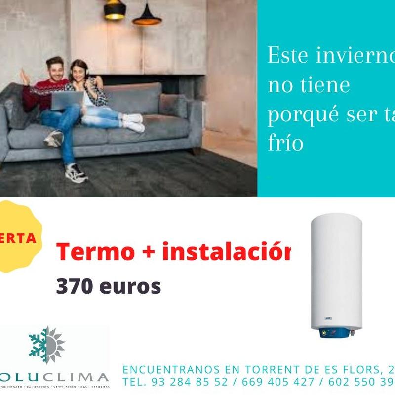 Promociones de calefacción: Servicios de Soluclima