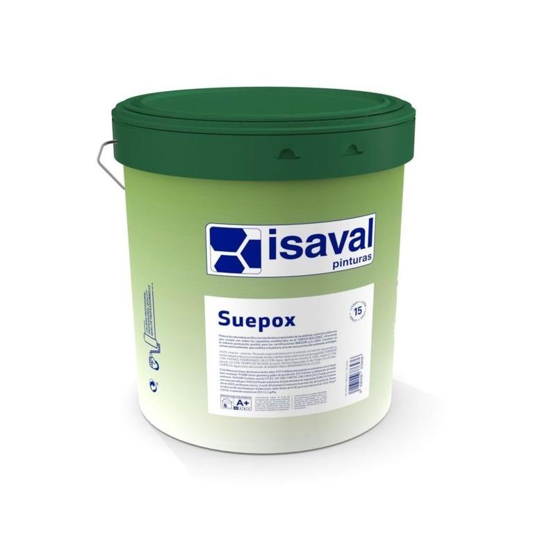 SUEPOX de ISAVAL en almacén de pinturas en ciudad lineal