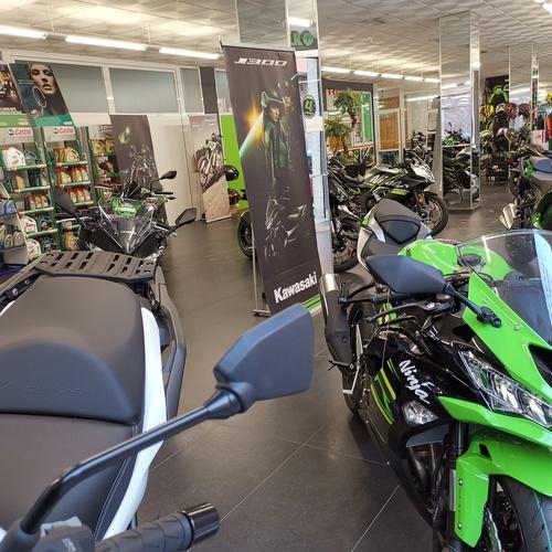 Concesionario de motos en Elche