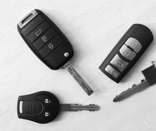 Cuáles son los principales tipos de llaves de coche