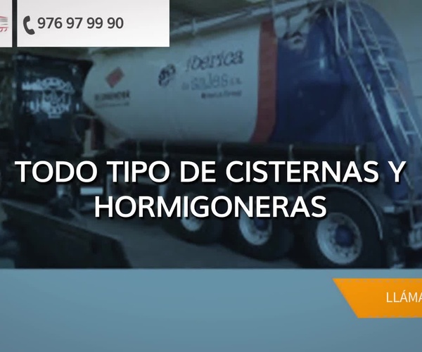 Reparación de cisternas en Zaragoza | Talleres Reciscar