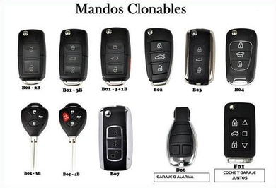 Mandos de coches economicos
