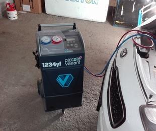 La nueva maquinaria para las cargas del nuevo gas 1234yf