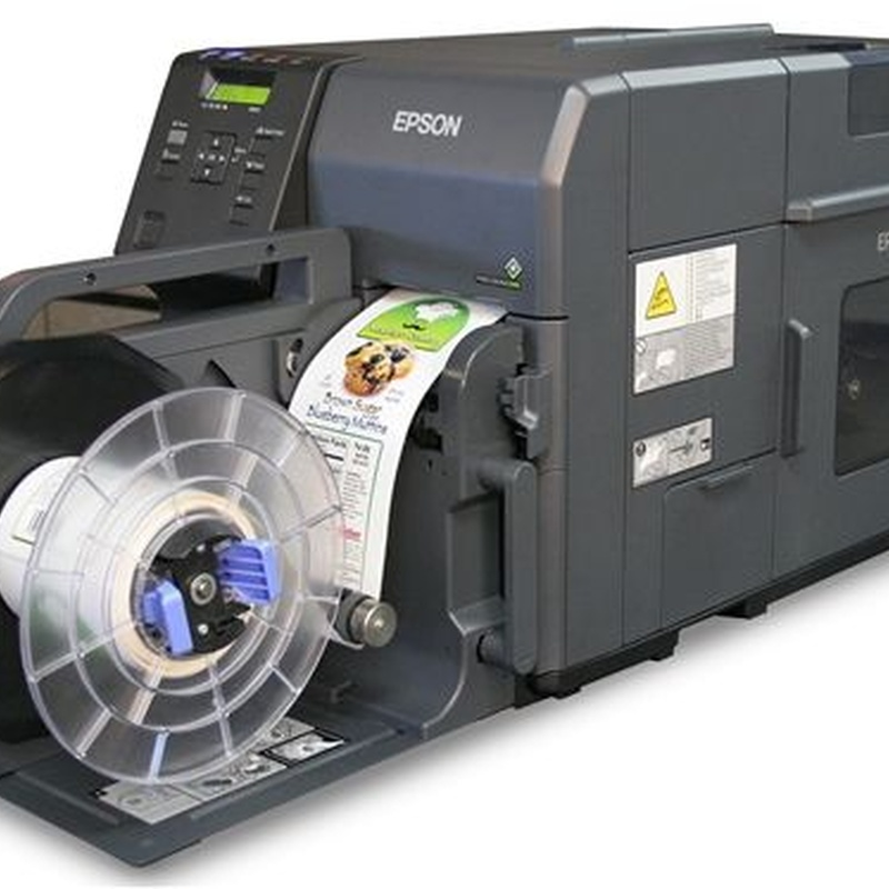 Impresoras de etiquetas: Servicios y Productos de Simacod Projects