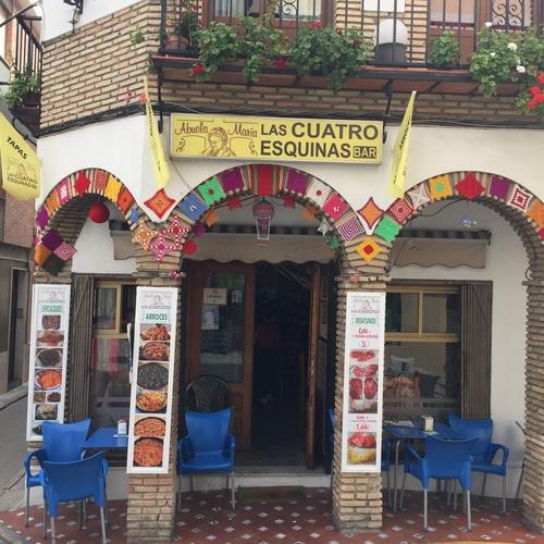 Restaurante andaluz en Iznájar