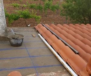 Tejado de teja cerámica mixta
