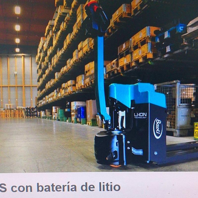 EP15WS CON BATERÍA DE LITIO: Maquinaria de ocasión de Carretillas Elevadoras A.L.A., S.L.