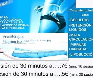 Oferta presoterapia