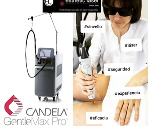 Centro depilación láser Alejandrita  Esthetic Láser