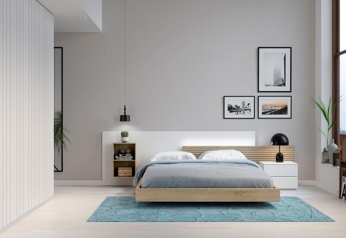 Habitación matrimonio DM_1: Muebles de Spais a Mida