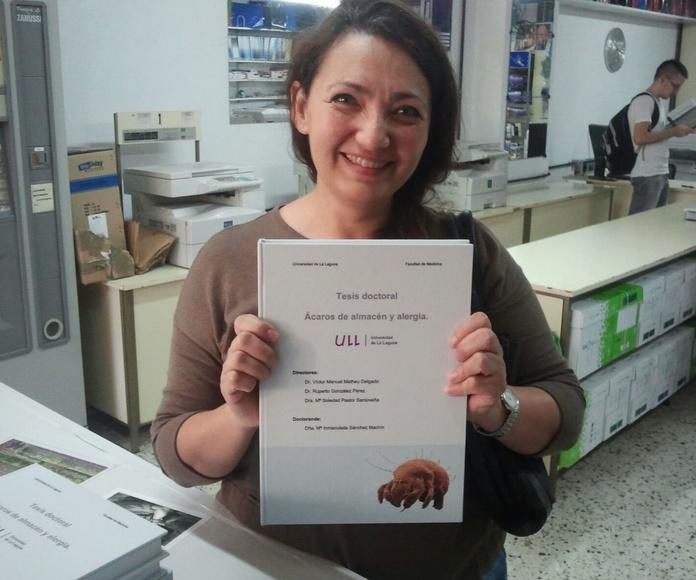 Proyectos y tesis de fin de carrera: Servicios de Fotocopias Asun