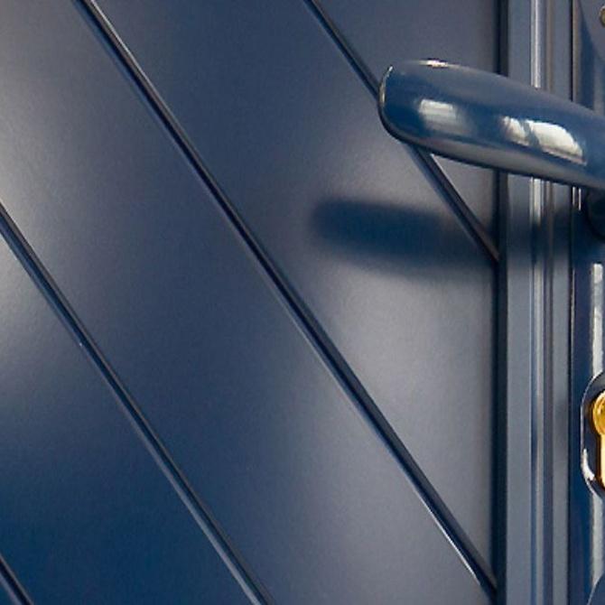 La elegancia de las puertas lacadas