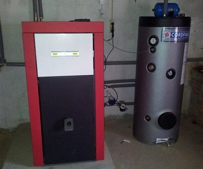 Instalaciones de estufas y calderas: Productos de Coben Cerámicas