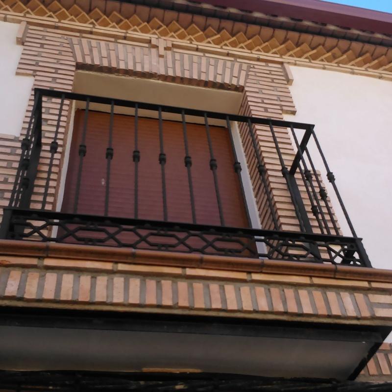 Rejas exteriores: Servicios y Productos de Cerrajería Avelino Izquierdo, S.L.