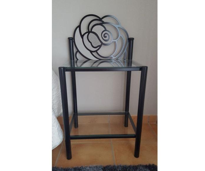 Mesita Rosa: Catálogo de muebles de forja de Forja Manuel Jiménez