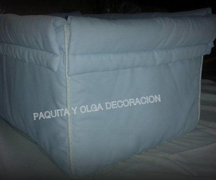 Ropa de cuna: Servicios de Paquita & Olga Decoración
