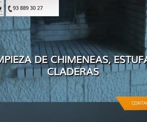 Deshollinador en Barcelona, limpieza de campanas extractoras industriales