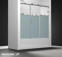 Mampara de baño Profiltek serie Steel mod. ST-111 Classic decoración kids