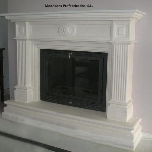 Revestimiento de chimenea modelo Salón