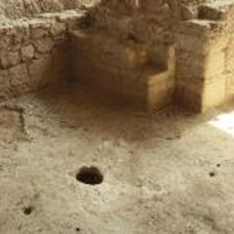 Sala abovedada: Turismo arqueológico de Villa Romana de Salar
