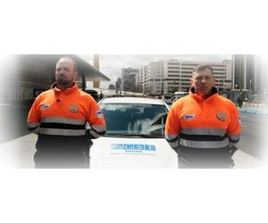Vigilantes de seguridad en Madrid centro