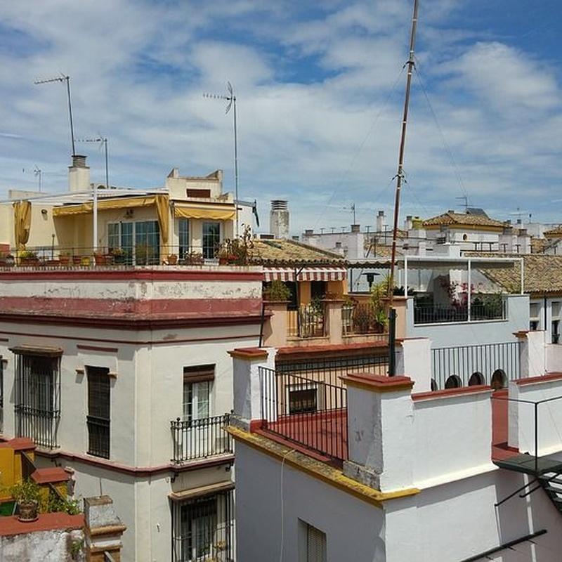 Impermeabilización de terrazas: Servicios de MAREAV CONSTRUCCIONES