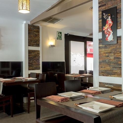 Kaede restaurante japonés en Málaga