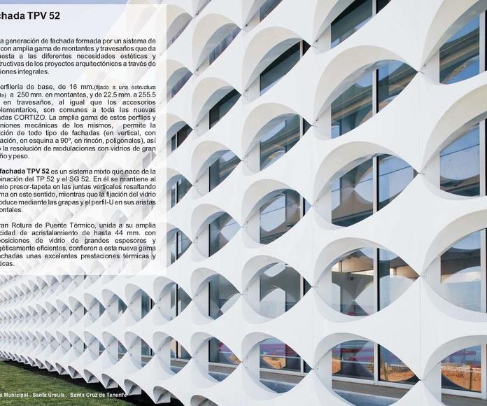 Fachada TPV 52: Catálogo de Jgmaluminio