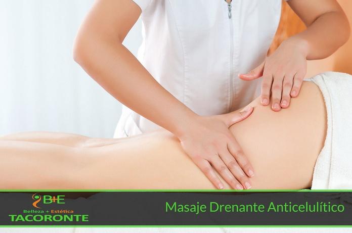 Masaje Drenante Anticelulítico: Tratamientos Personalizados de Belleza+Estética Tacoronte
