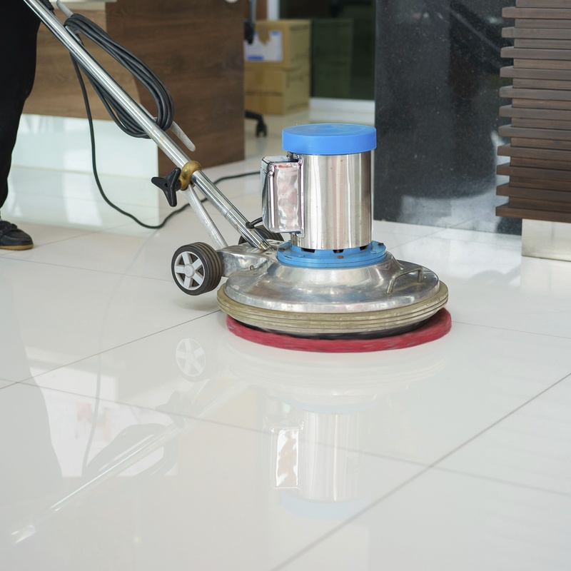 Polished marble floors: Services de Be Clean