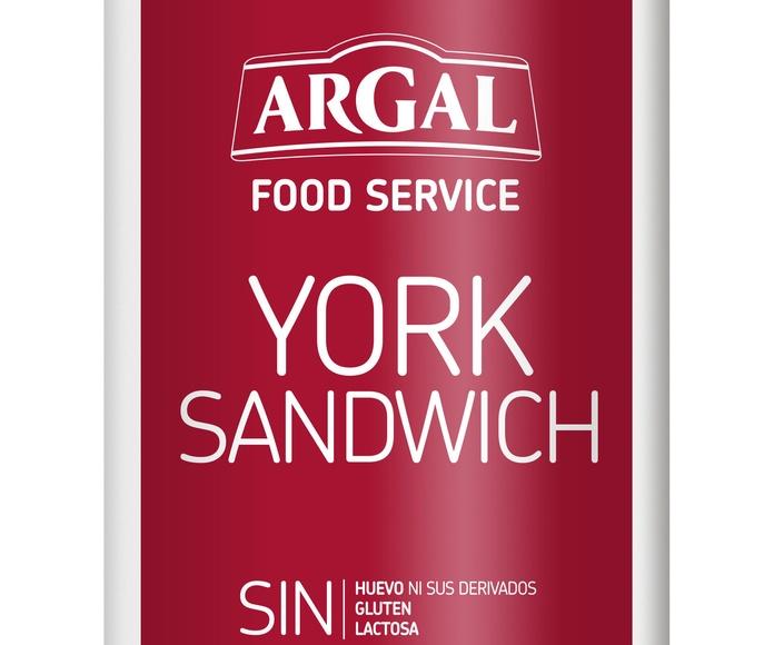 York Sandwich Pieza de 3 Kgs. Aprox.Marca ARGAL