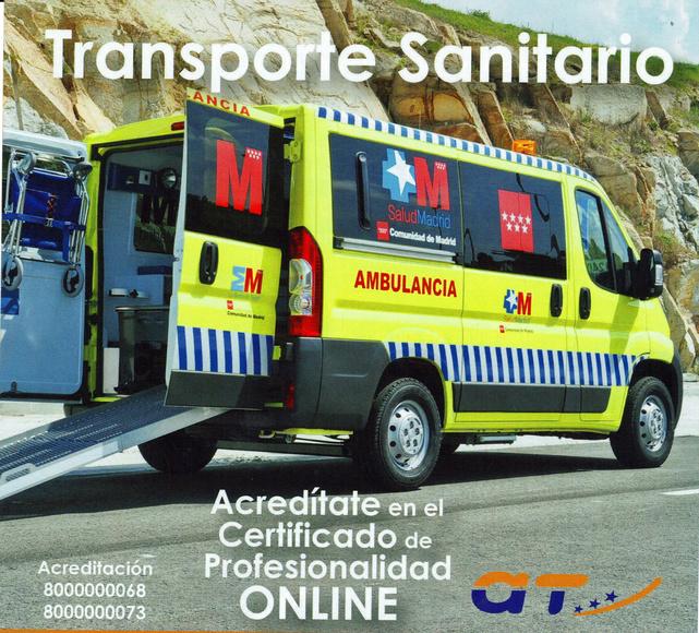 curso transporte sanitario: CATÁLOGO de Autoescuela San Cristóbal