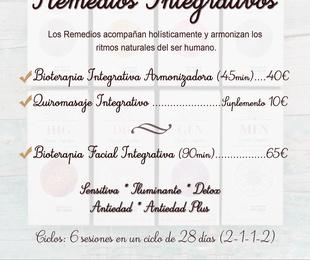 """Nuevos Cuidados con """"REMEDIOS INTEGRATIVOS"""""""