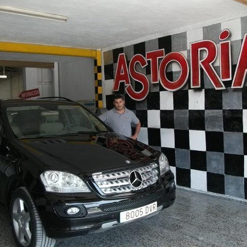 Pintura: Taller de Astoria Cars S. L.