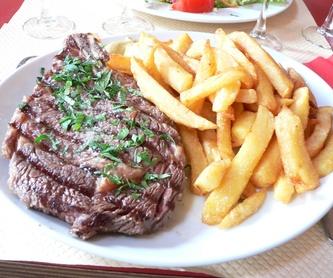 Sugerencia del chef: Carta de Restaurantes El Portillo y La Bamby