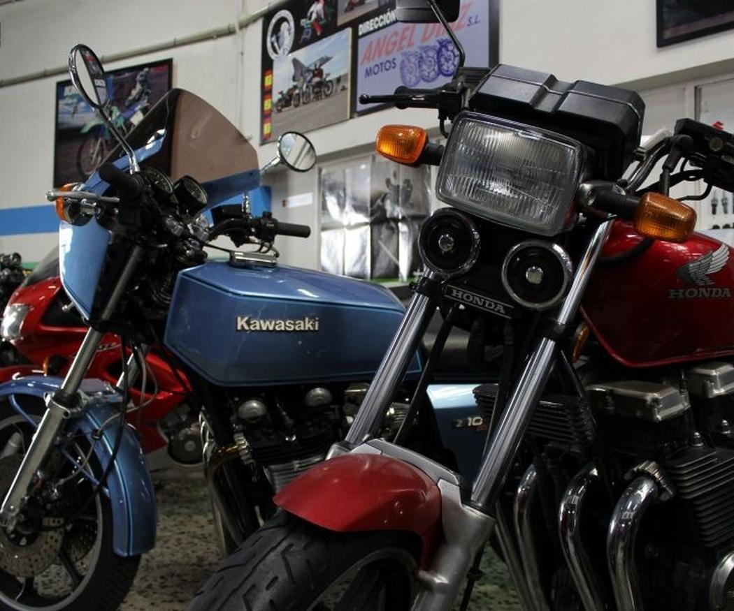 Los tipos de luces en las motos