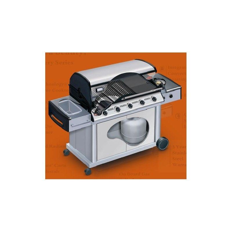 Barbacoa gas carro Discovery Total INOX 4B: Productos y servicios de Mk Toldos