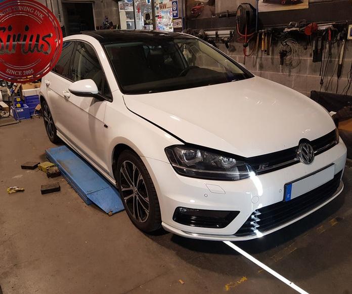 VW Golf mk7 - H&R + Separadores
