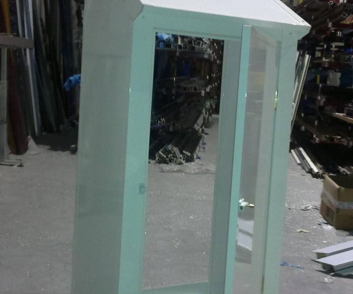Armario a medida con cristal