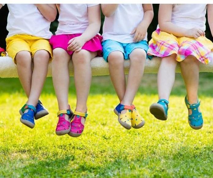 calzado infantil en La Eliana