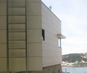 Fachada ventilada en porcelánico estándar (MUROS)