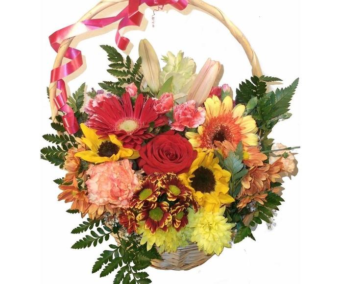 Centros y cestas de flores: Productos y servicios de Floristeria rosella