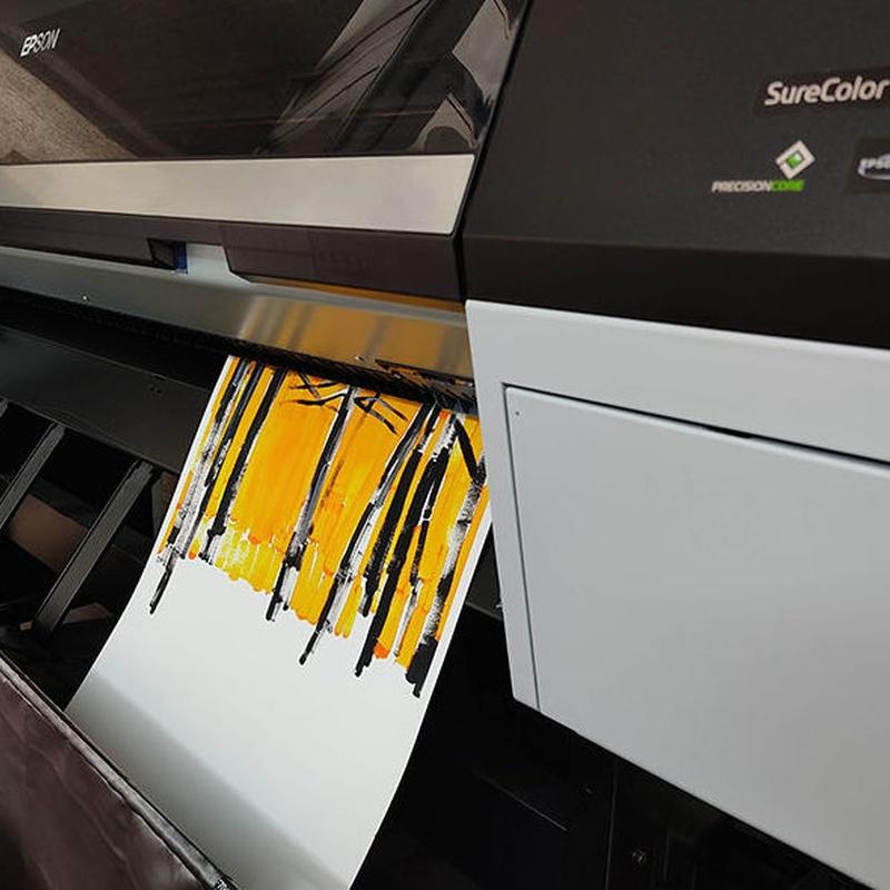 Impresión digital en Hahnemühle. Forma 88 S.L. Salamanca. Obra de Lorena Domingo Aliaga