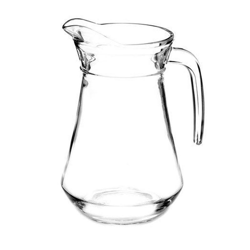 Jarra de cristal: Alquiler de Mantelería & Menaje