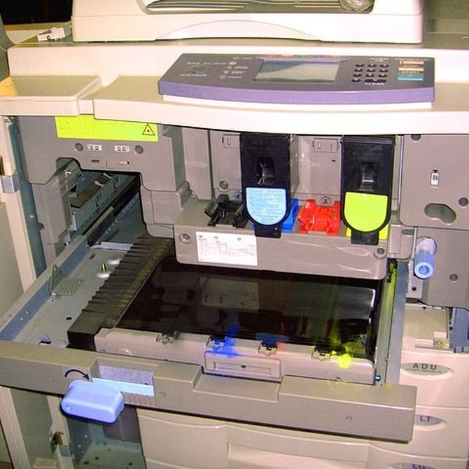 Los inicios de las fotocopiadoras