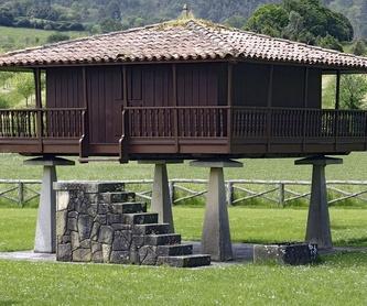 Construcción de hórreos: Servicios de Carpintería Alfonso
