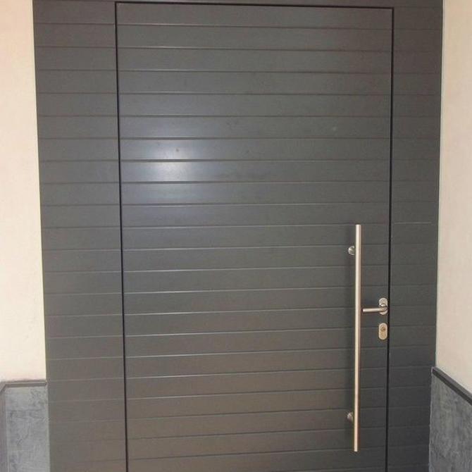 Las puertas paneladas