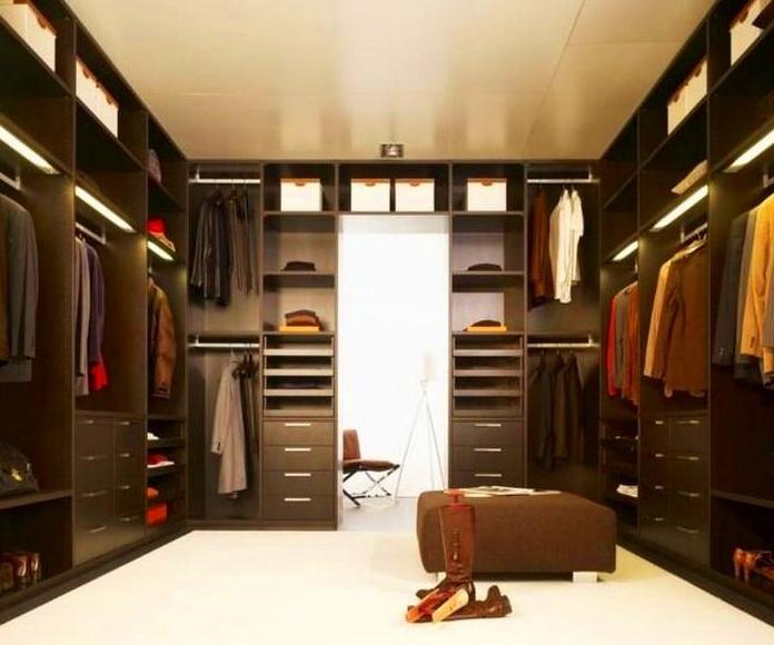 Ejemplo vestidor wengue
