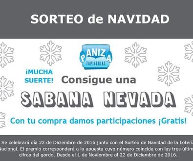 SORTEO NAVIDAD by Tapicerías Paniza